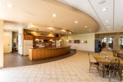 Break Room kitchen area